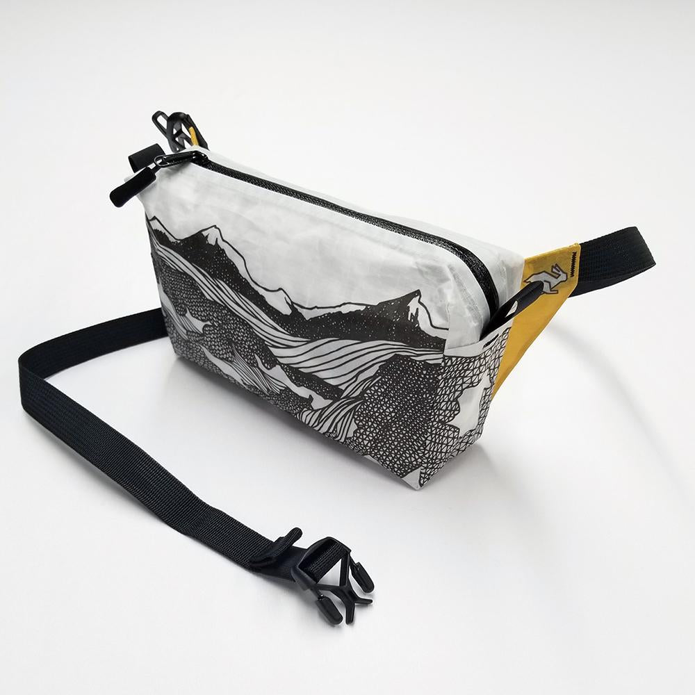 Low Poly High Tail Designs Colorful Fun Ultralight Thru Hiking Fanny Packs