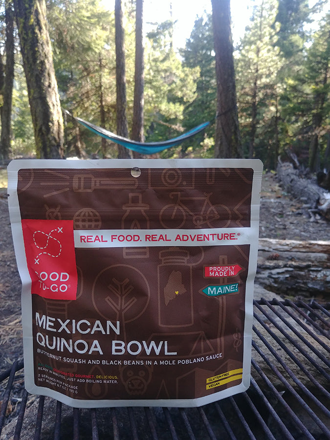 Mexican Quinoa Bowl Good To Go Review Best Lightweight Backpacking Food