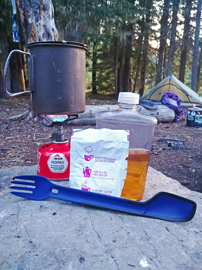 Gear Review Morsel Spork XL with Spatula Lightweight Backpacking Thru-Hiking
