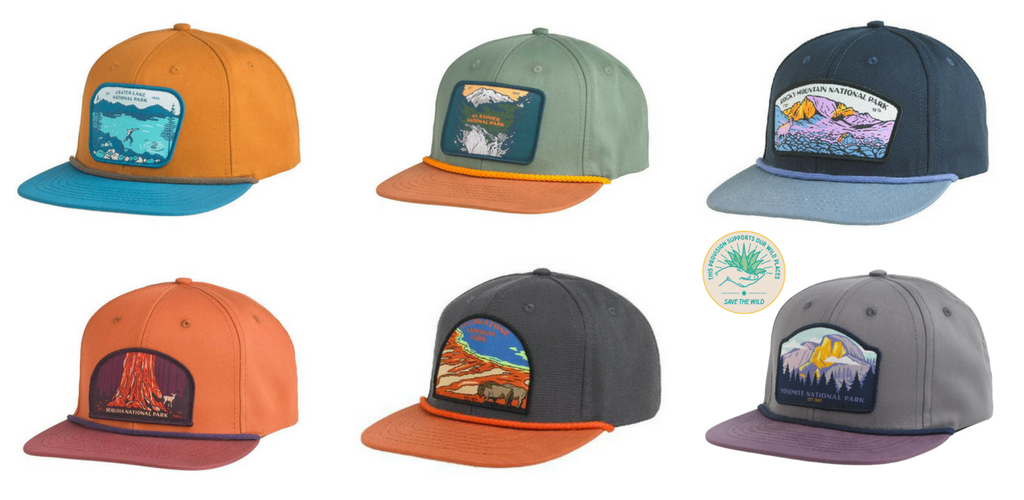 National Park Trucker Hats Ball Caps - Sendero - Garage Grown Gear