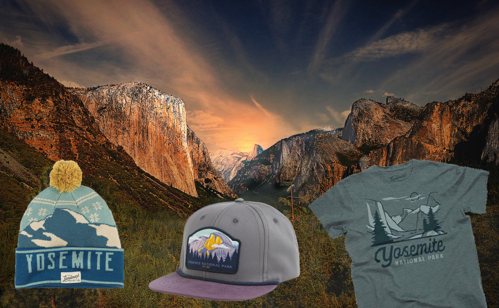 National Park T-Shirts Tee Shirts Beanies Trucker Hats Ball Caps