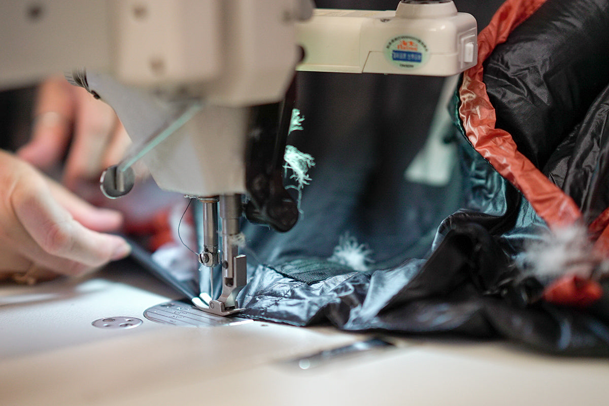 MYOG Make Your Own Outdoor Gear DIY How to Sew Sewing Laminates