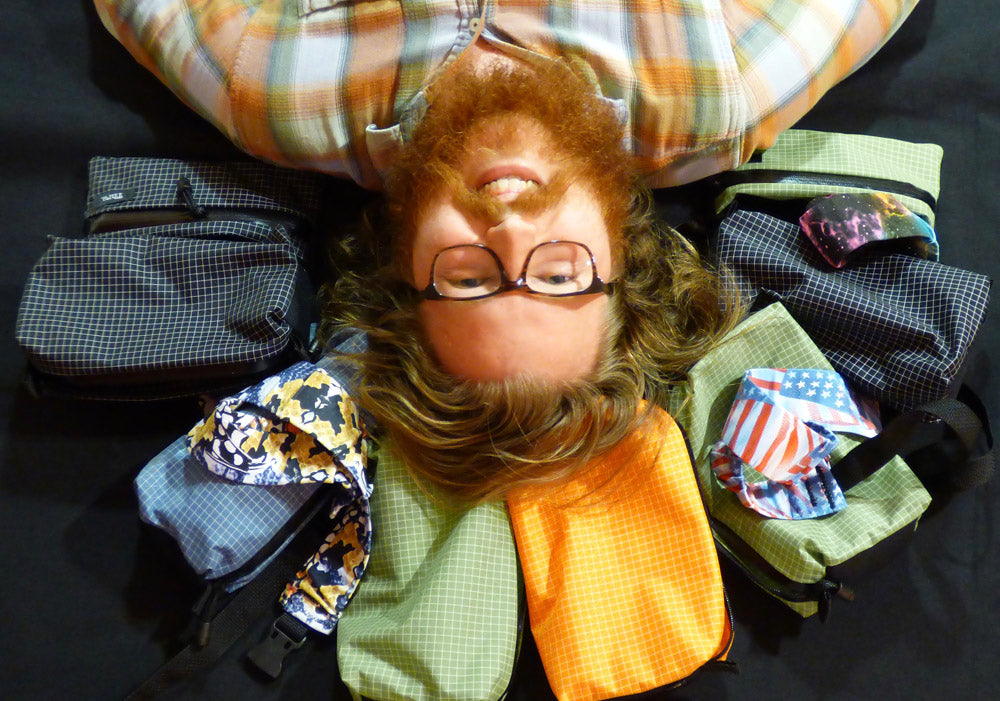 "Paul ""Skunk-Ape"" Thomas - Thru Fanny Packs For Hikers and Backpackers - Garage Grown Gear"