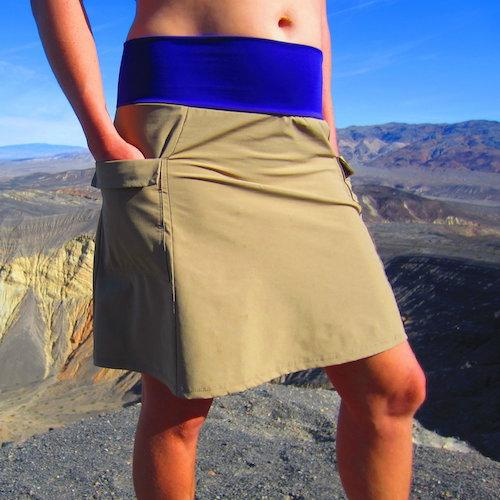 Purple Rain Adventure Skirts For Hiking Backpacking Made by Mandy Bland