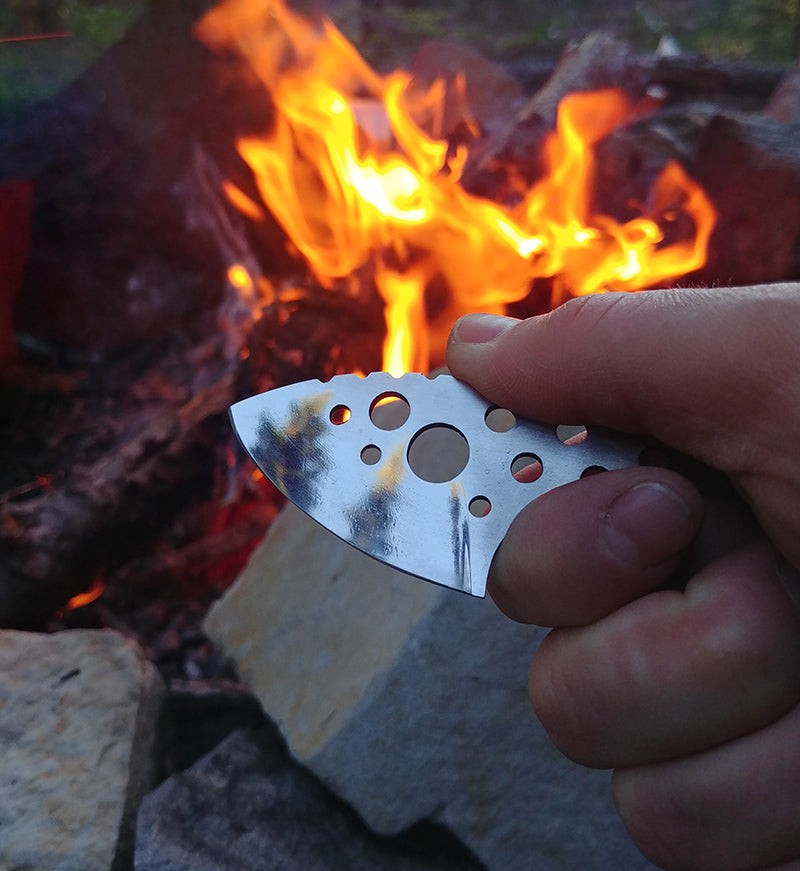 Rainy Day Forge ULK UL Knife Thru-Hiking Backpacking Ultralight Knives Review Hand-Made