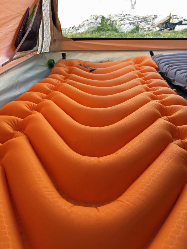Review Klymit Insulated V Ultralite SL Sleeping Pad for Backpacking - Copyright Garage Grown Gear