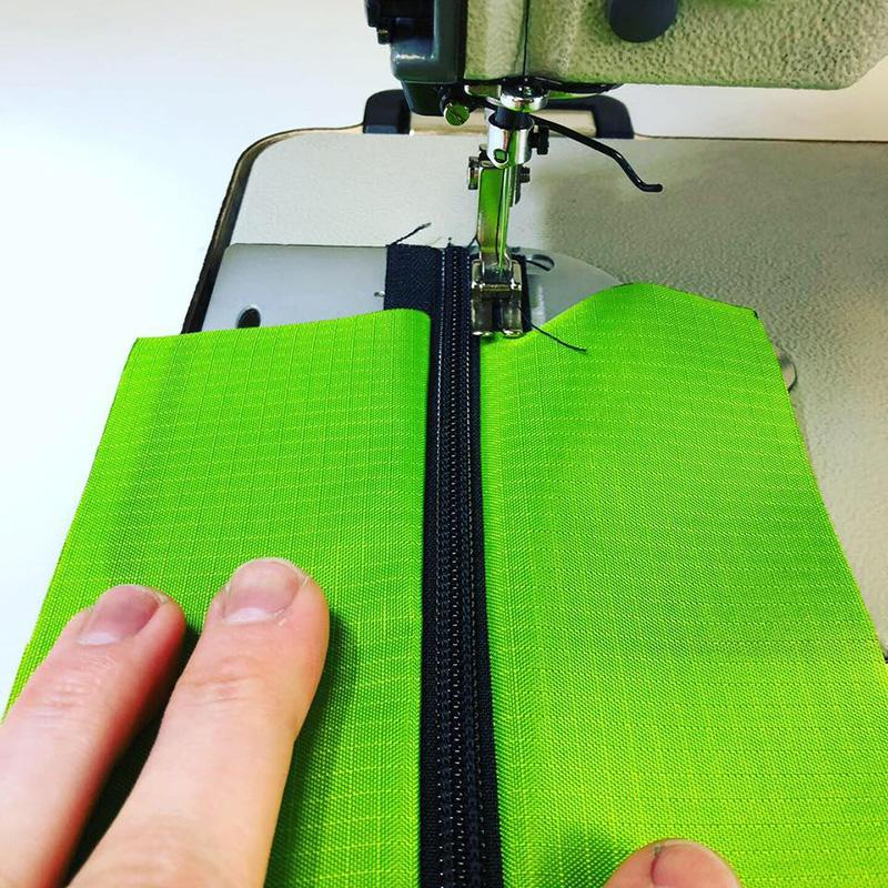 MYOG Make Your Own Outdoor Gear DIY How to Sew Sewing Laminates Zippers
