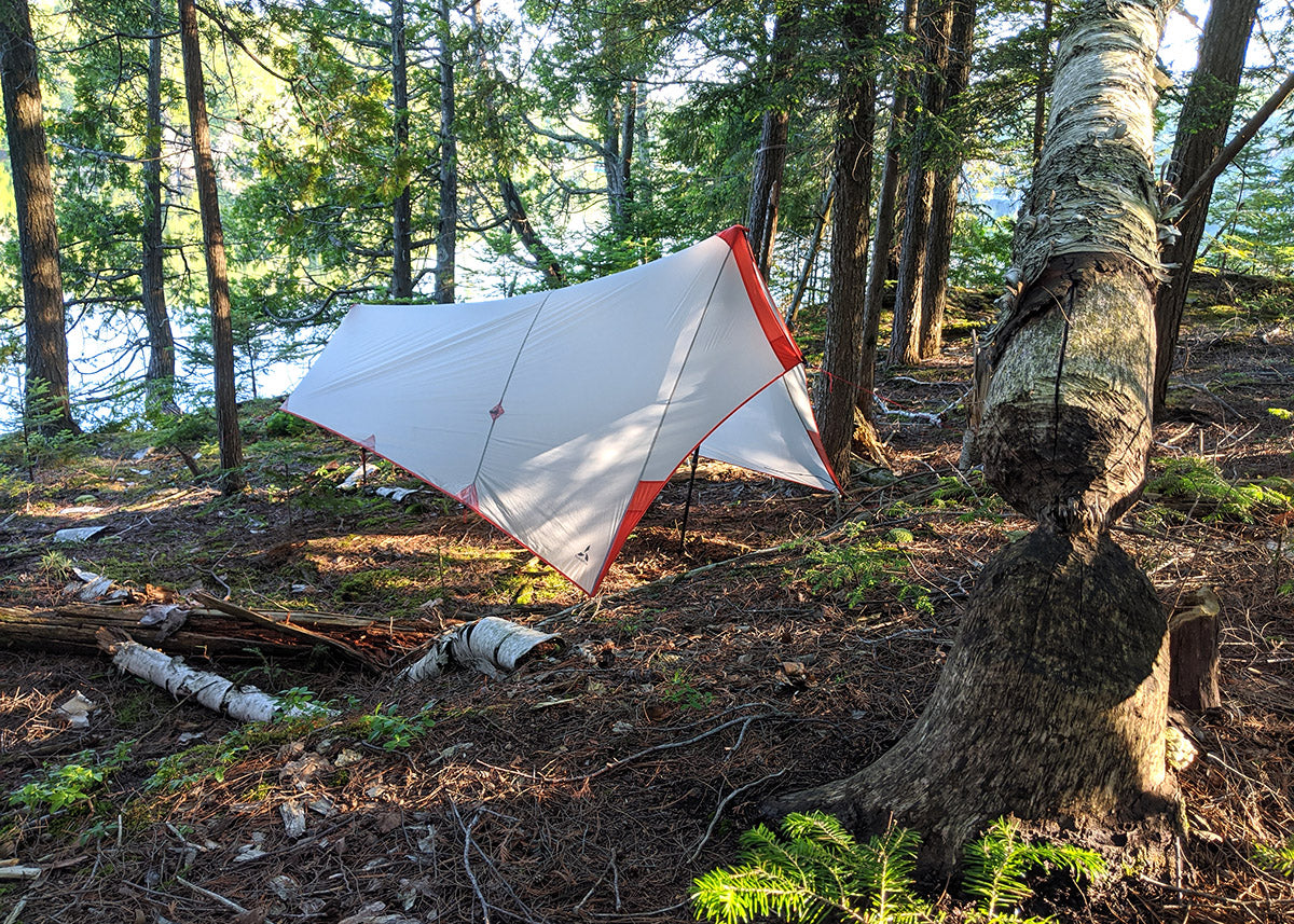 SlingFin SplitWing UL Ultralight Backpacking Tarp Review