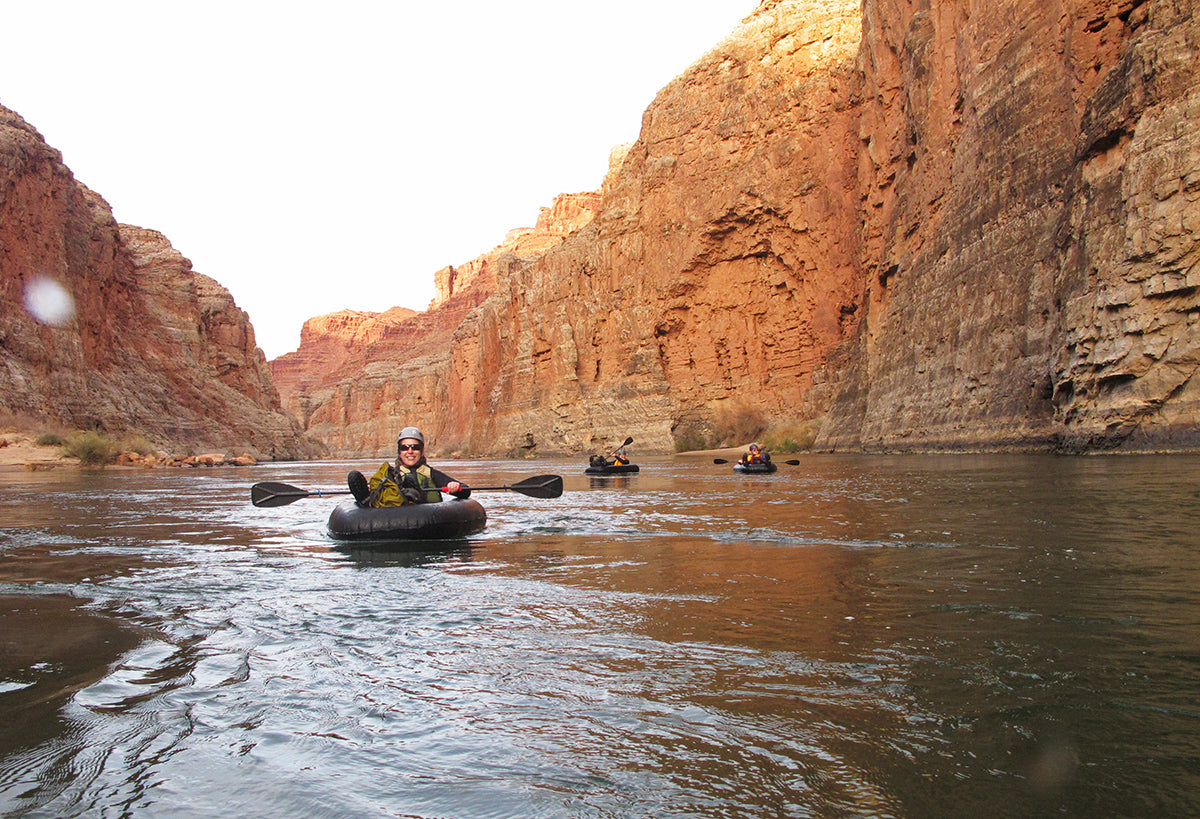 Supai Adventure Gear UL Lightweight Ultralight Packable Intflatable Flatwater Boat Packraft Backpacking Canyoneering