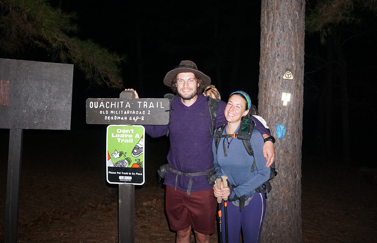 Thru-hiking with a partner boyfriend girlfriend significant other