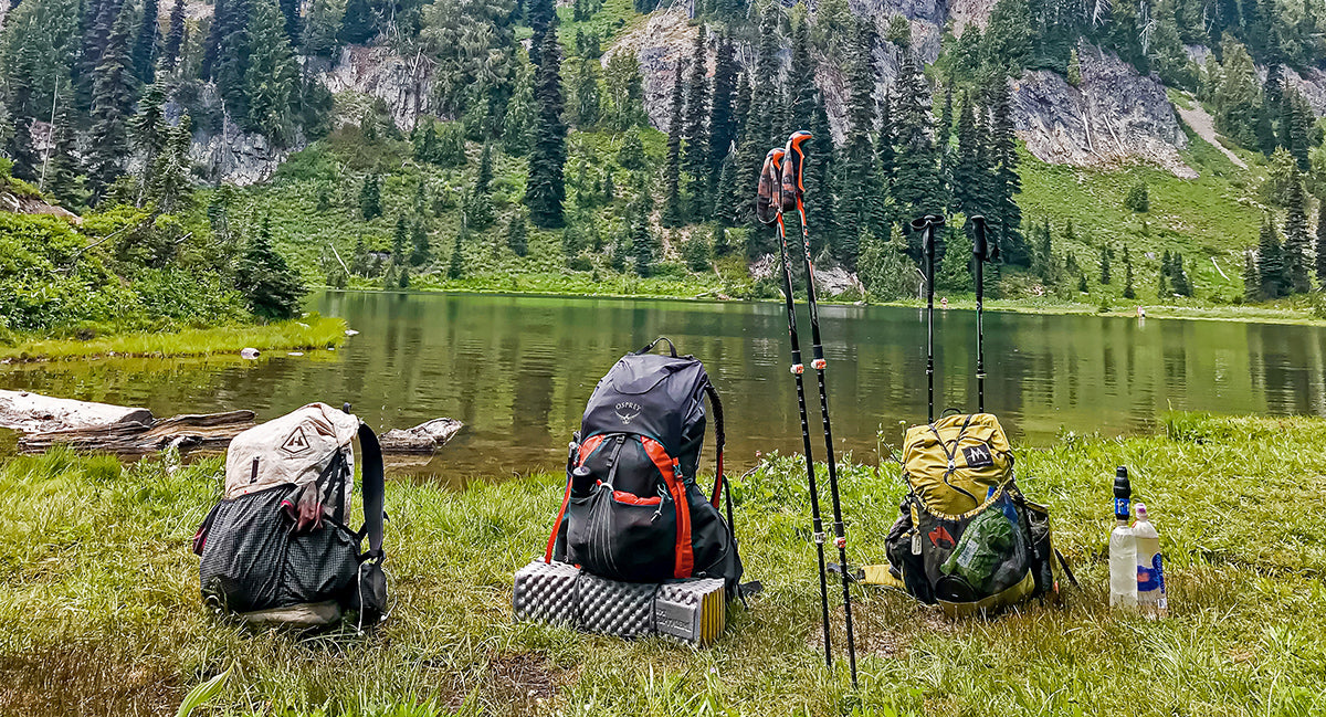 Tips How to Lower Pack Weight Base Weight Thru-Hiking Ultralight Backpacking
