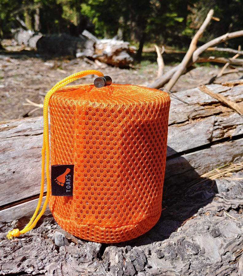Toaks Titanium 750 Mug Pot Cup Review UL Lightweight Backpacking