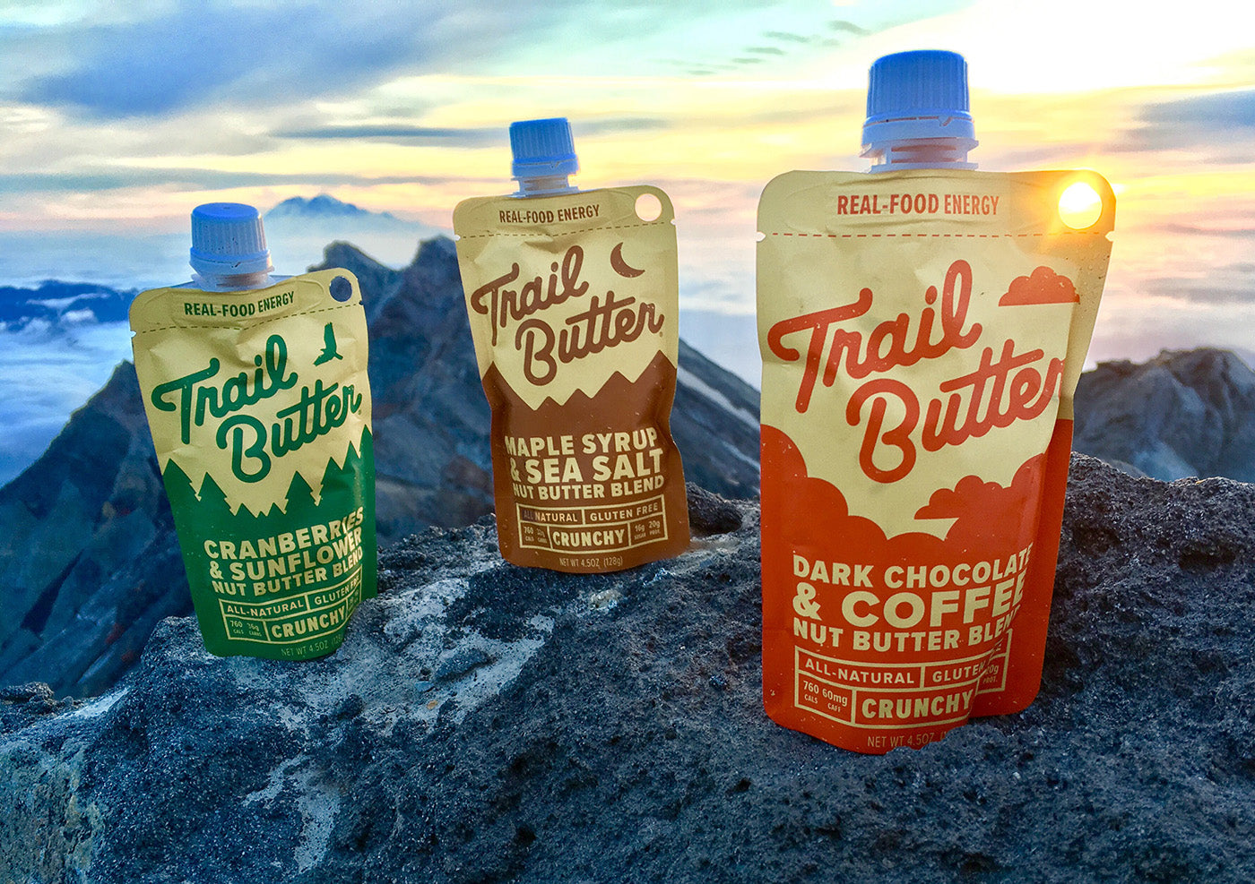 Trail Butter Nut Almond Butter Backpacking Thru-Hiking