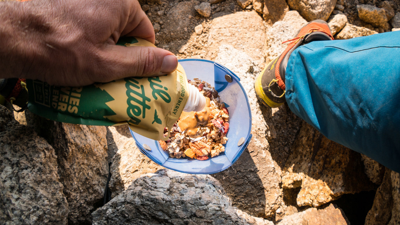 Trail Butter Almond Nut Butter Nutrition Food Snacks Backpacking Thru-Hiking Lots of Calories