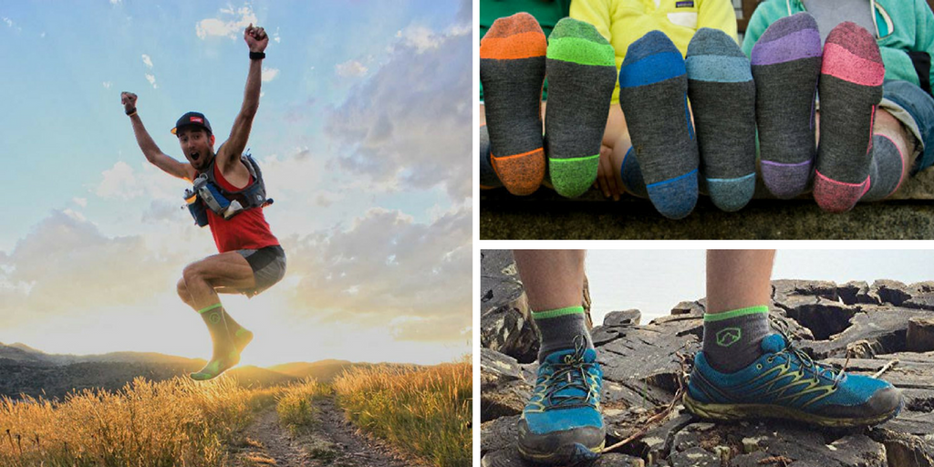 0731f3c2edff6 This is the feeling CloudLine wants you to experience as you pull your feet  into their USA made merino wool hiking socks. The Ultra Light ...