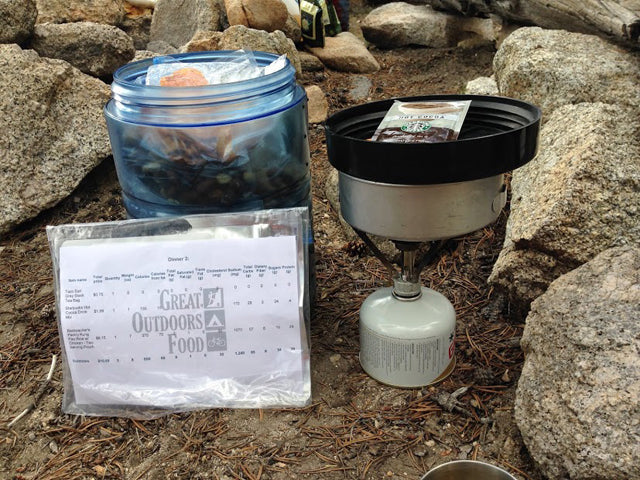 Backpacking Meal Planning - Great Outdoors Food - Garage Grown Gear