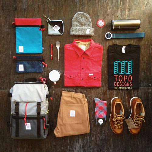 Cool outdoor clothing brands - Topo Designs - lifestyle