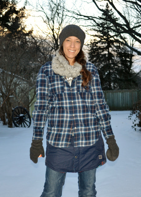 DIY Insulated Skirt - Backcountry With The Kids