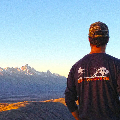Give'r Ski Wyoming tee - Cool Outdoor Clothing Brands