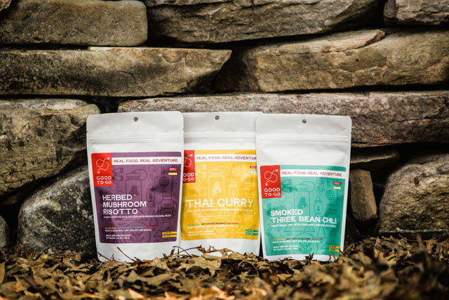 Healthy dehydrated meals for camping - Good To Go - Garage Grown Gear