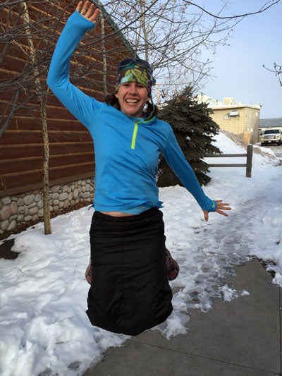 Insulated Skirt Review - Ruby Jupe - Garage Grown Gear