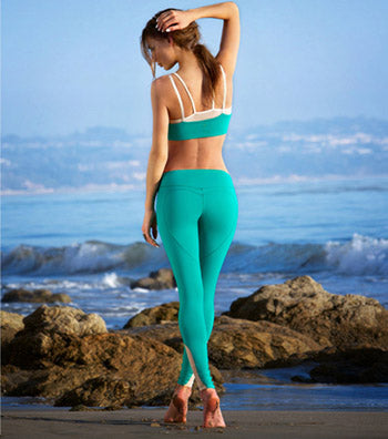 Nina B. Roze Lifestyle - heart butt yoga pants