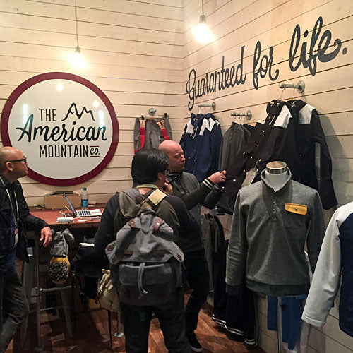 Outdoor Retailer show - Garage Grown Gear - American Mountain Co