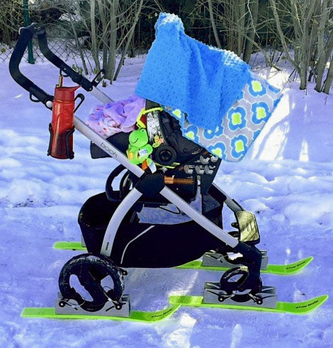 Polar Stroller Skis - Garage Grown Gear 2