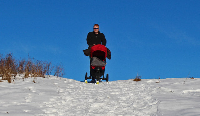 Polar Stroller Skis Lifestyle - Garage Grown Gear 3