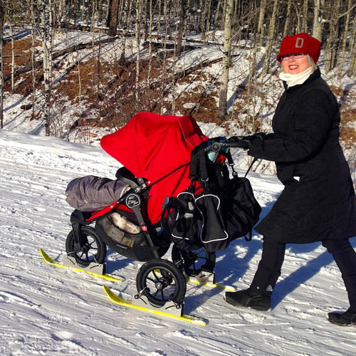 Polar Stroller - small outdoor gear companies for kids