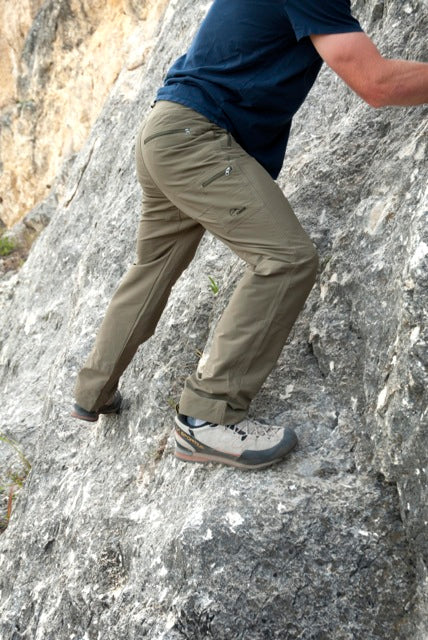 Roscoe Outdoor montana clothing company climbing pant Garage Grown Gear_1