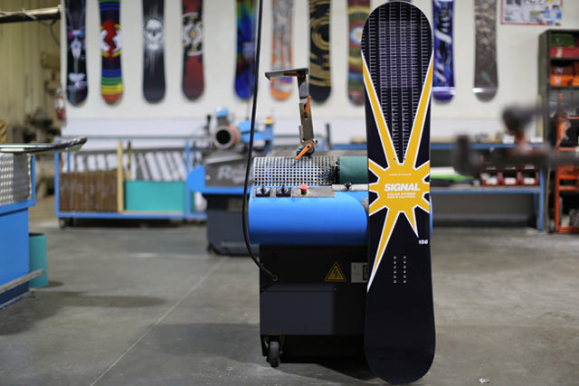 Solar powered snowboards by Signal