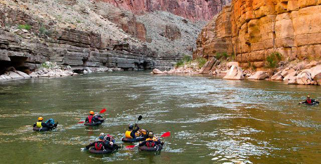 Supai Adventure Gear Lightweight packraft.
