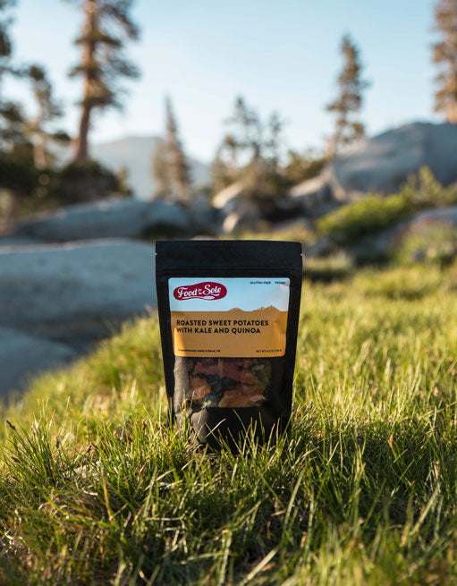 Food for the Sole Backpacking Meals Cold Soak
