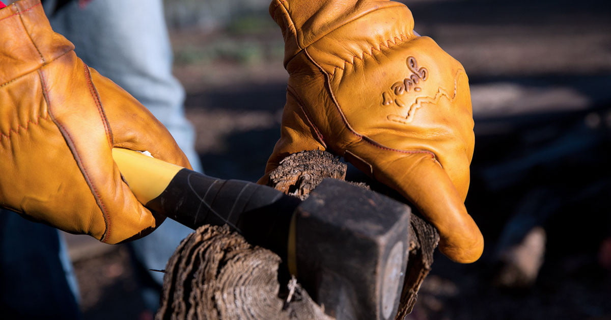 Best gear and gloves for wood chopping - Give'r