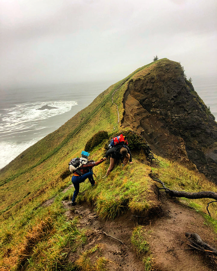 OCT Oregon Coast Trail Thru-Hiking Lightweight Backpacking Mistakes