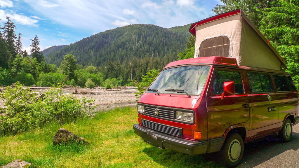 Vanagon Westfalia Cloudline merino wool hiking socks startup story
