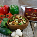 Garden Vegetable Pasta by Trailtopia