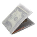 Lean Wallet White by Hawbuck
