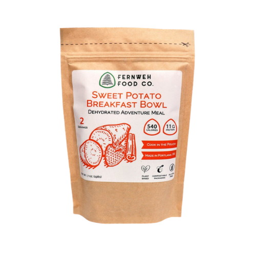 Fernweh Food Co dehydrated nutritious sustainable backpacking food