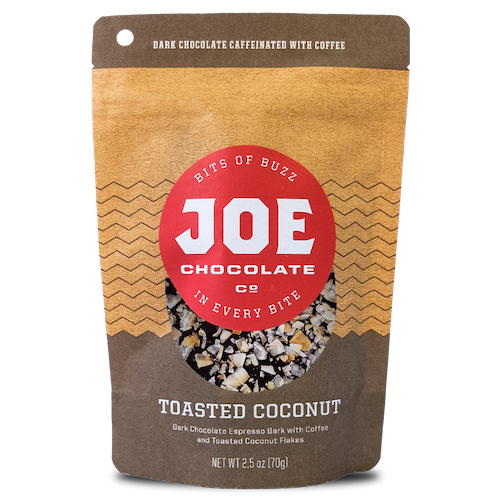 Toasted Coconut (2.5oz) by Joe Chocolate