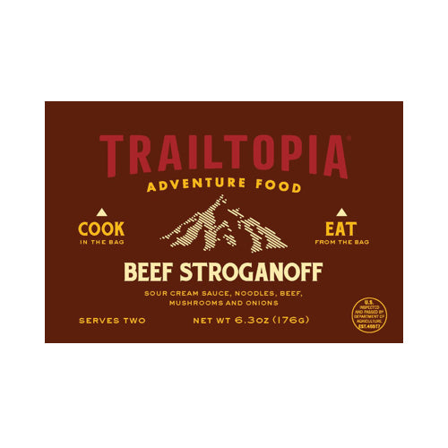 Beef Stroganoff by Trailtopia