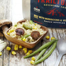 Beef flavored with Vegetables and Mushrooms Ramen Noodles by Trailtopia