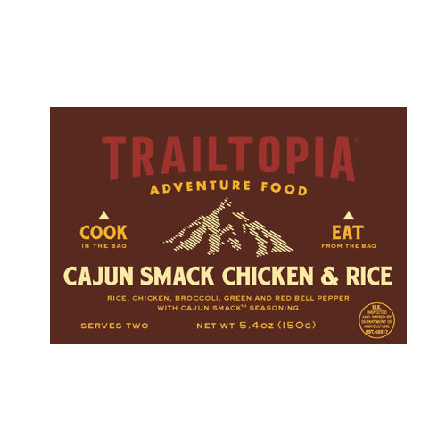 Cajun Smack Chicken & Rice by Trailtopia