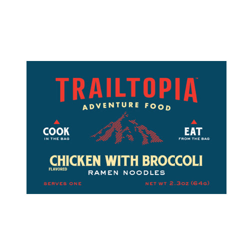 Chicken flavored with Broccoli Ramen Noodles by Trailtopia