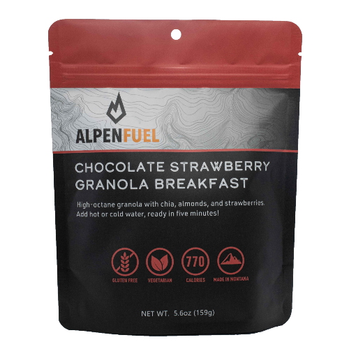 Alpen Fuel Chocolate Strawberry Granola