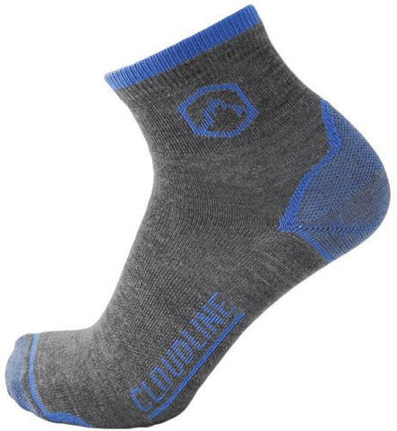 1/4 Light Cushion Top Running Sock - by Cloudline Apparel