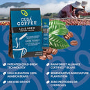 Dark Roast Cold Brew Instant Coffee by Cusa Tea & Coffee