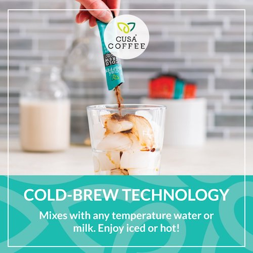 Light Roast Cold Brew Instant Coffee by Cusa Tea & Coffee