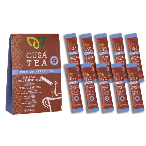 Mellow Movement Herbal Tea by Cusa Tea